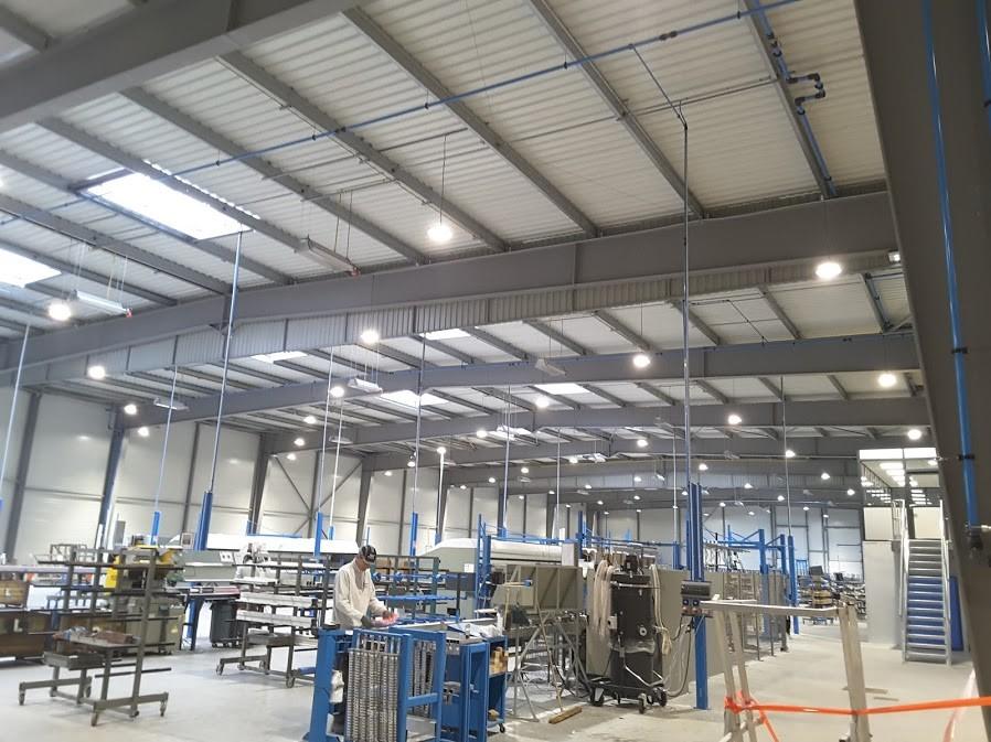 installation tuyauterie airnet usine