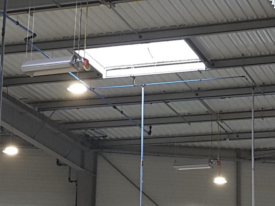 installation tuyauterie toiture