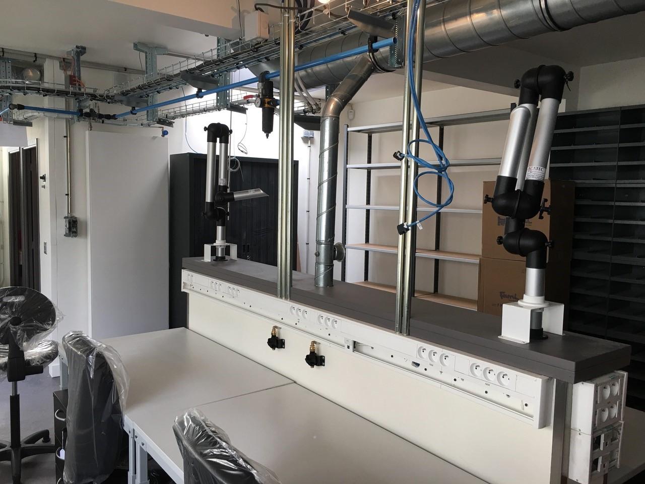 r seau d 39 air comprim atelier7 tuyauterie industrielle en aluminium et inox. Black Bedroom Furniture Sets. Home Design Ideas
