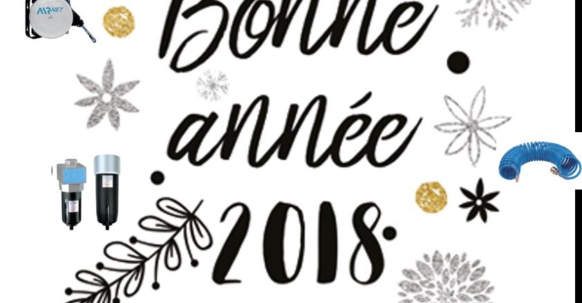 AIRnet vous souhaite une bonne année 2018